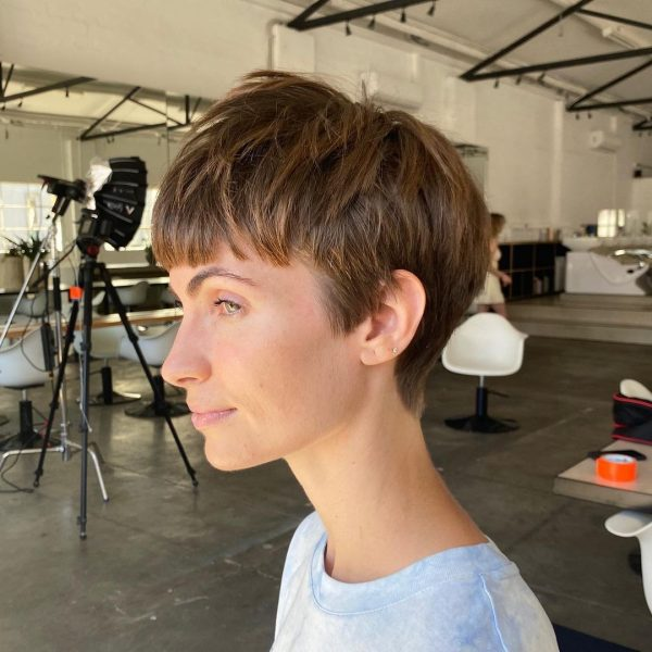 Cool Cropped Pixie Cut